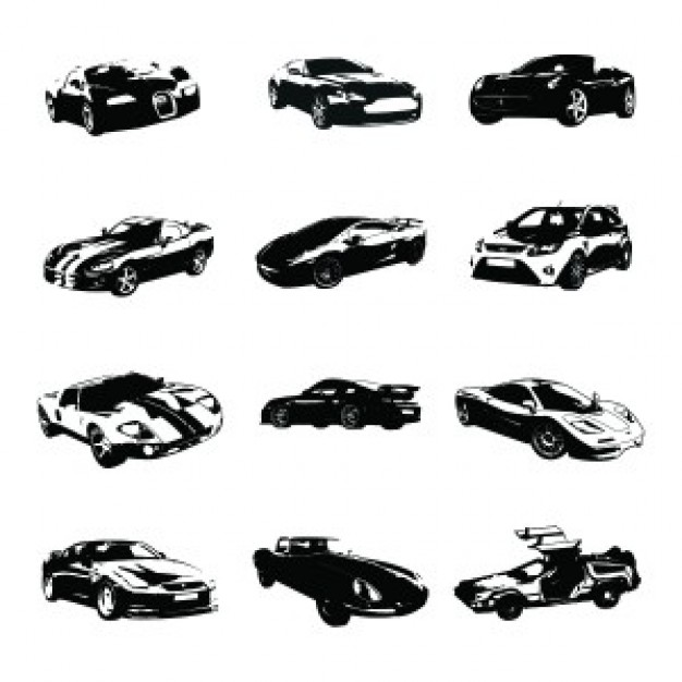 different-sports-cars-silhouettes-vector_287-2147487077